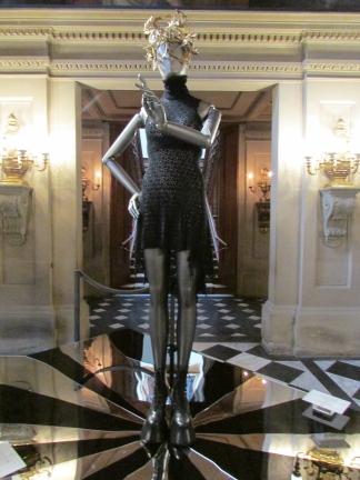 Alexander McQueen dress worn by Stella Tennant