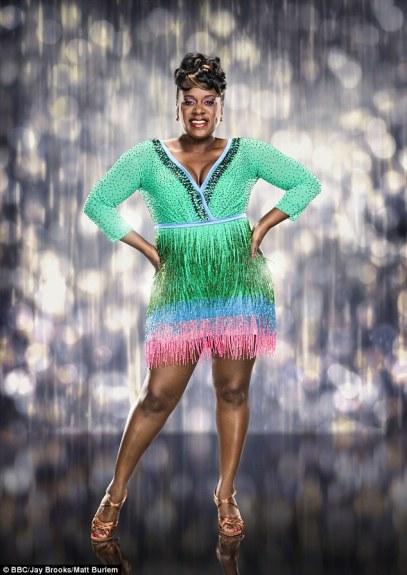 Tameka green dress