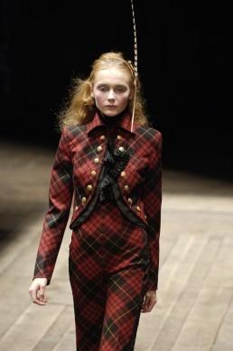 Alexander+McQueen tartan suit