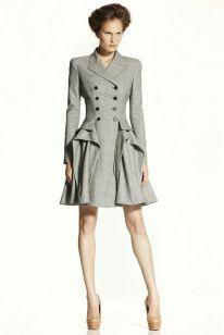 McQ tailored coat dress