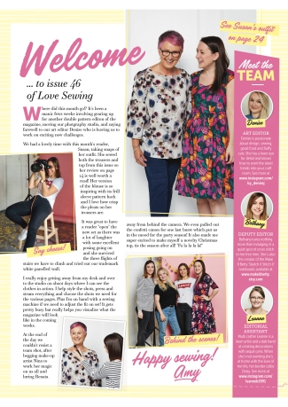 Love Sewing page 3