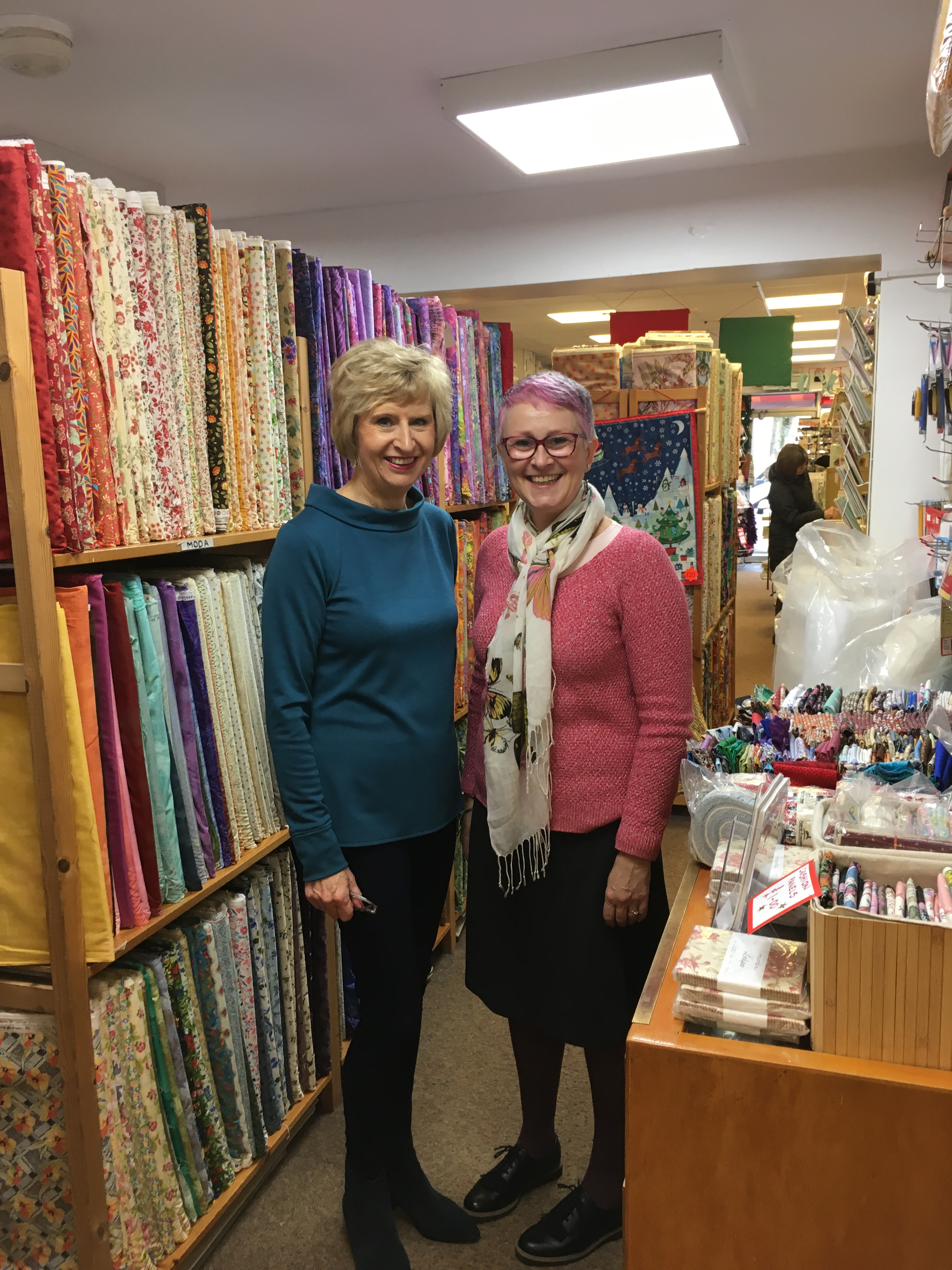 Visiting Fabric Shops In Hertfordshire And Cambridgeshire
